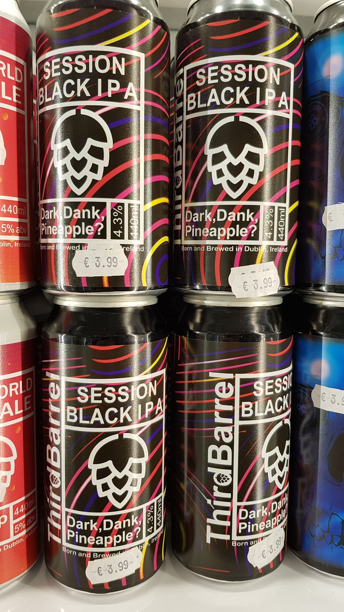 New in from @ThirdBarrelbrew Session Black IPA 4.3% and available now thanks to drop off from Kev. <br>http://pic.twitter.com/3InsQxWQXj