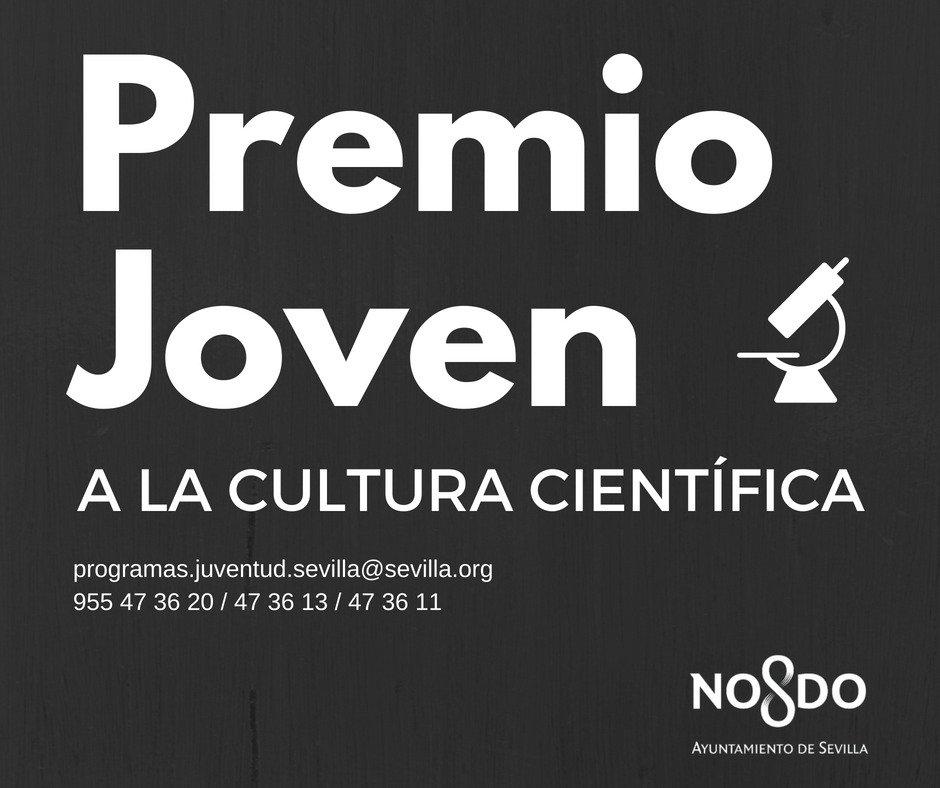 No pierdas de vista la nueva convocatoria del programa PREMIO JOVEN A LA CULTURA CIENTÍFICA. ¡Infórmate! ow.ly/oDy030l78wR
