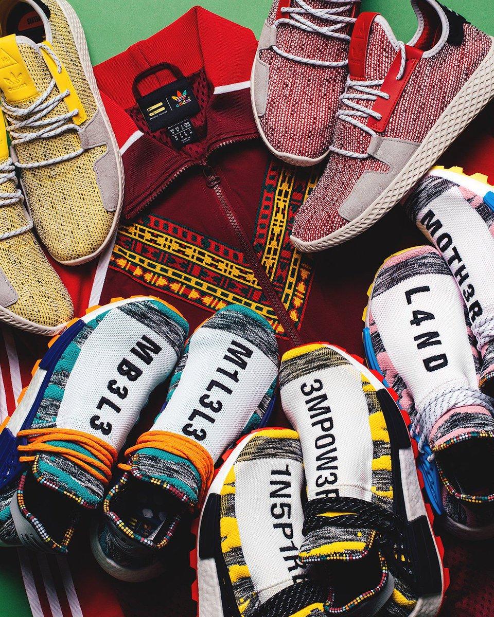 Pharrell adidas Hu Collection Release Info |
