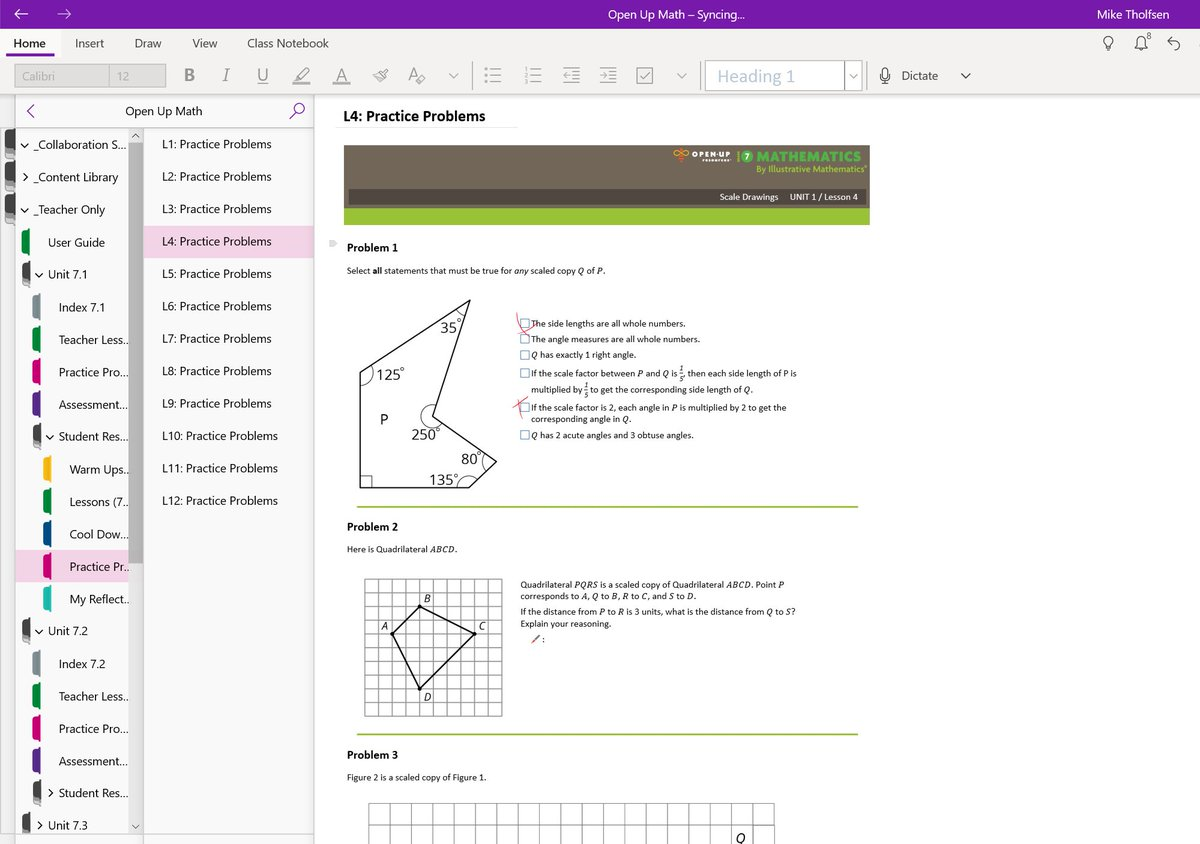 NEW! Start your district&#39;s digital transformation with the new @IllustrateMath curriculum from @OpenUpResources, delivered in #OneNote Class Notebooks. High quality, standards-aligned, coherent and FREE! More here:  https:// techcommunity.microsoft.com/t5/Education-B log/Microsoft-Education-and-Open-Up-Resources-partner-to-launch-top/ba-p/225495 &nbsp; …  #edtech #MathChat #mieexpert <br>http://pic.twitter.com/StUcnzOyGv