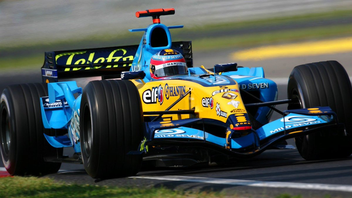 #picoftheday Gracias Fernando. Running 304 races (And counting) He obtained 2 World titles (&#39;05 and &#39;06) 32 Wins 22 Poles 97 Pódiums He is the best Spanish driver in Formula 1  @FormulaOneWorld @sennatheking @jim_knipe<br>http://pic.twitter.com/csRaVNlbyL