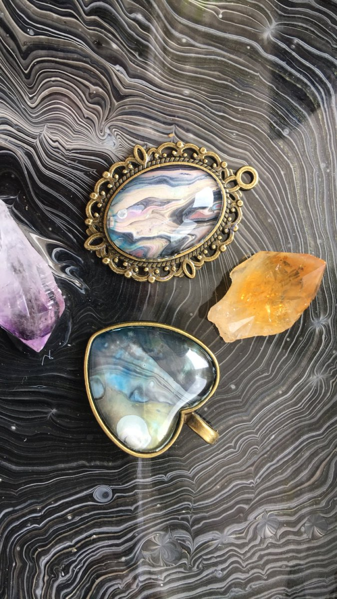 I usually don't do giveaways until my insta reaches milestones BUT you all have made my heart melt the past week SO I'm giving away FOUR pendants, 2 people will win!  Retweet this tweet and follow me to enter! Winner will be randomly selected Thursday 8/16  <br>http://pic.twitter.com/8Onrz7mz0r