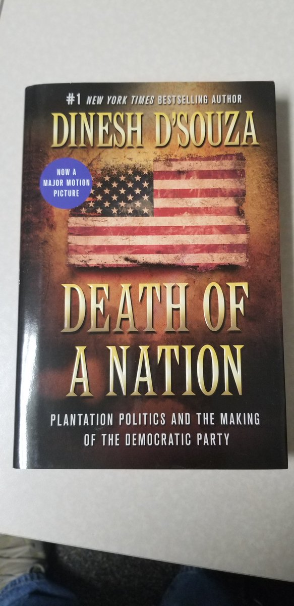 Death of a Nation, is the latest film from #1 New York Times bestselling author Dinesh D&#39;Souza. In theaters nationwide now. More information at  http:// DeathofaNationMovie.com  &nbsp;  .  Tune into Drivetime Live with Mark Hahn to win a copy of the book between 5 and 6pm on KSCJ!<br>http://pic.twitter.com/FkSrUbMu6M