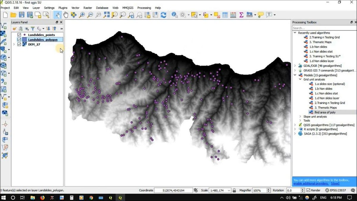 How to Build, edit and run a Graphical modeler tool in QGIS?  https:// buff.ly/2AYMb0H  &nbsp;  <br>http://pic.twitter.com/7ybTEdNfgJ