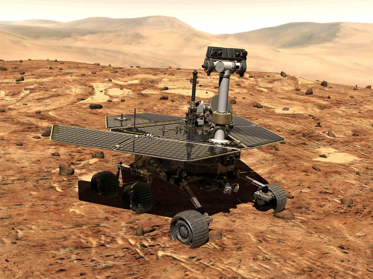 Engineers are trying to &#39;wake up&#39; the Mars rover Opportunity, which has been radio silent for weeks because of a major dust storm, by playing it &quot;Wake Me Up Before You Go-Go&quot; by Wham! <br>http://pic.twitter.com/EMIczkPIXs