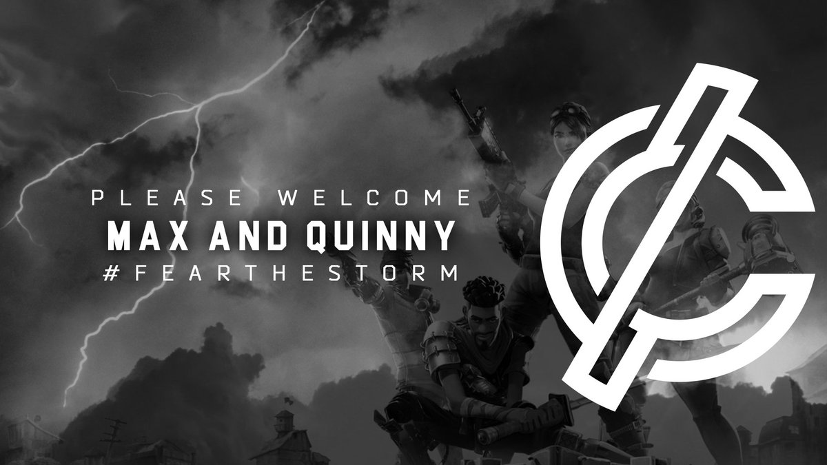 Please welcome PS4 European @FortniteGame duo @MaxMotion_ and @Rquinny_ to Cyclone! #FearTheStorm <br>http://pic.twitter.com/AZZ15bVCZJ