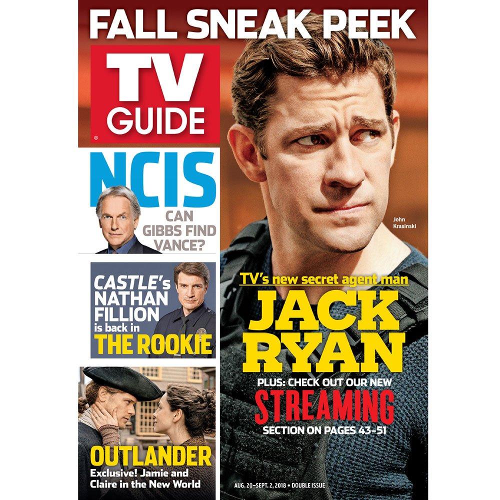 Meet your new #JackRyan, @JohnKrasinski, in the latest issue of @TVGuideMagazine.