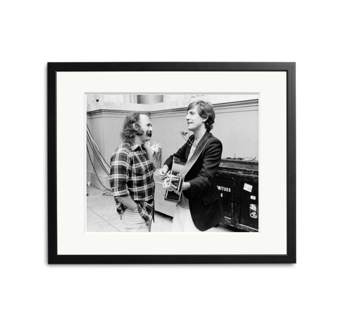 Happy Birthday to David Crosby - photographed with Graham Nash in 1982.