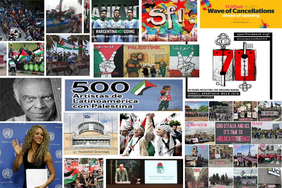Top 70 Moments of Solidarity &amp; BDS for #Palestine in 2018. Support for Palestinian rights is growing. Together, we grow it stronger every day.  http:// bit.ly/2vQdhBd  &nbsp;  <br>http://pic.twitter.com/KRRHPMeAwE