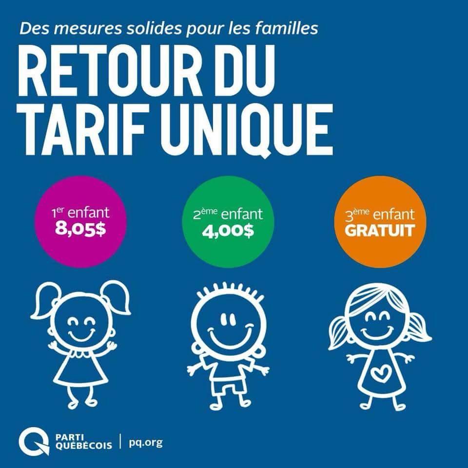Au PQ, on fait le choix de la qualité et de l'accessibilité pr l'enfance. Les nouvelles places en garderies seront dans des CPE, là où la qualité est meilleure.  Économie pr une famille de 2 enfants avec des revenus de 90 000$/an=près de 2000$! #PolQc ➡️ https://t.co/Y3fd2yRJvs