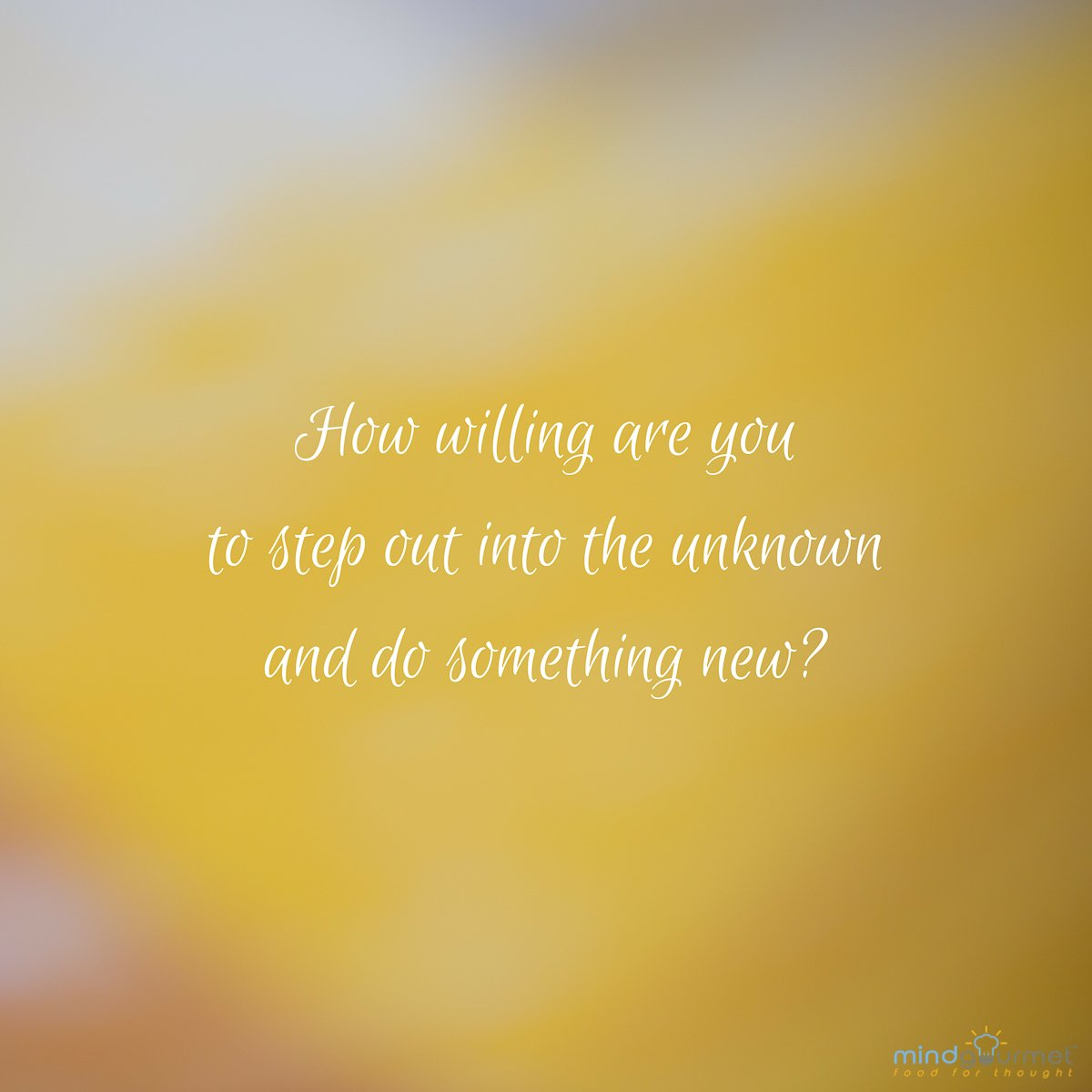 How willing are you to step out into the unknown and do something new? #comfortzone #comfortzoneweek #catchoftheday<br>http://pic.twitter.com/lQ2lL3oiHW