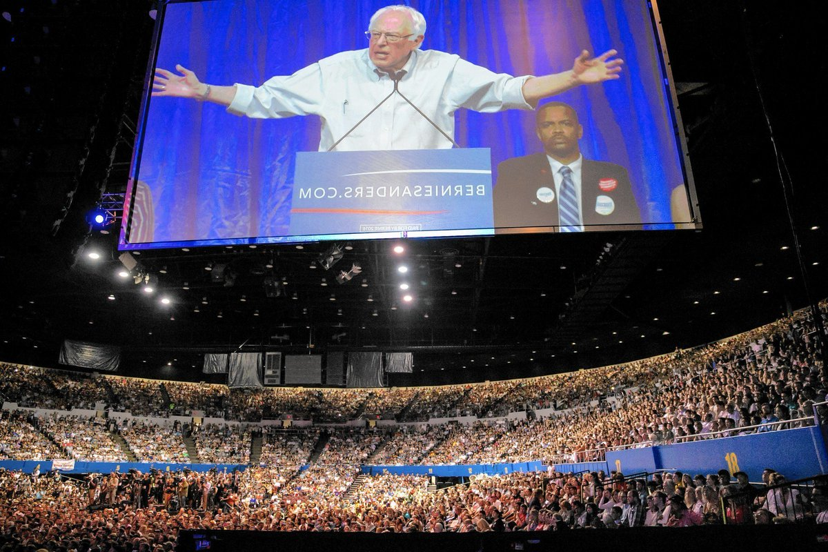 VOTERS ARE LEAVING THE @DNC , BECAUSE OF TRAITOR @TomPerez . BERNIE SANDERS AGENDA AND @OurRevolution candidates IS AMERICA&#39;S FUTURE.  NO BERNIE SANDERS NO @DNC. BERNIE SANDERS 2020<br>http://pic.twitter.com/q2NLQmojLY