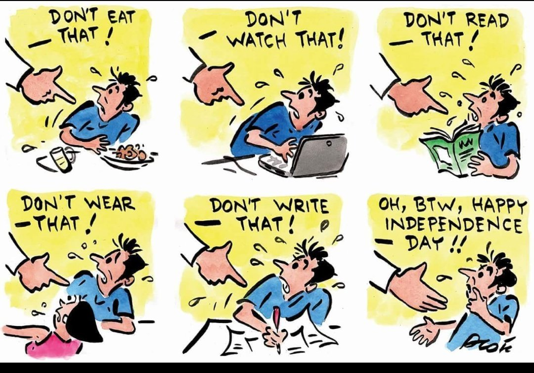 How does one celebrate #IndependenceDayIndia  when actually we are getting entangled in clutches...  Time to ponder over it...   #IndependenceDay2018<br>http://pic.twitter.com/t3t4UrsRQV