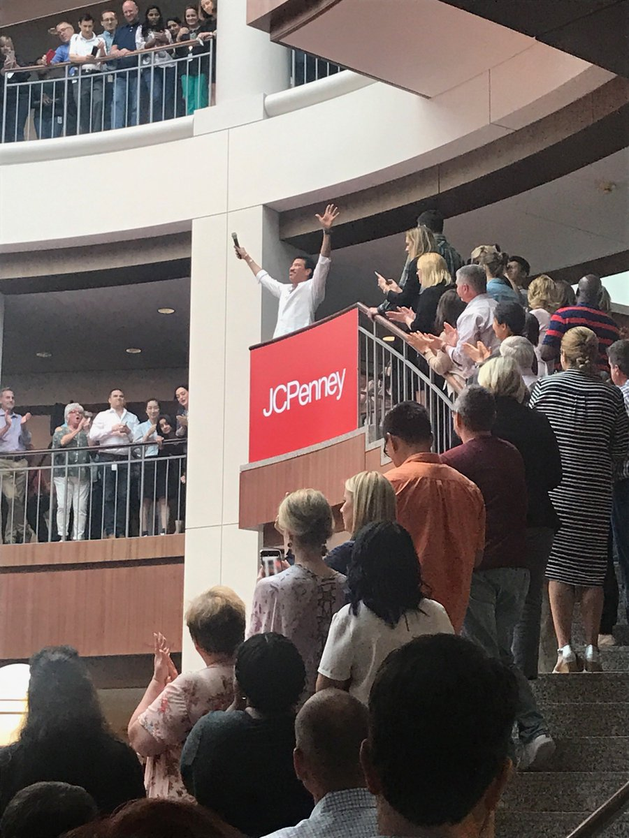 ... Home Office Associates In Plano, Texas, Yesterday With An Impromptu Pep  Rally. @lrhome Is Exclusive To JCPenney And Launches In Select Stores On  9/7.