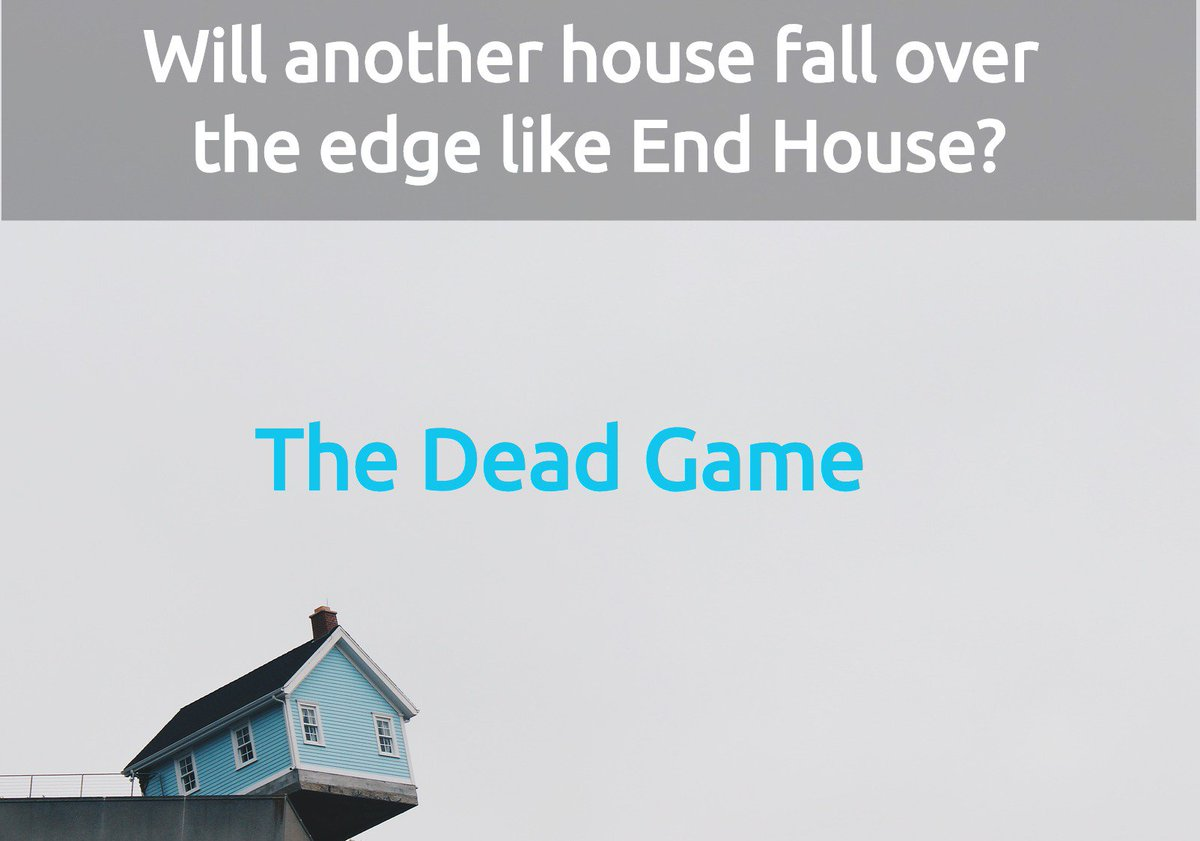 End House topples into the sea. Will the ocean claim more victims? THE DEAD GAME  http:// amzn.to/1lKvMrP  &nbsp;           http:// bit.ly/1lFdqNj  &nbsp;          #RRBC #ASMSG #mustreads <br>http://pic.twitter.com/uEotv8yvW7