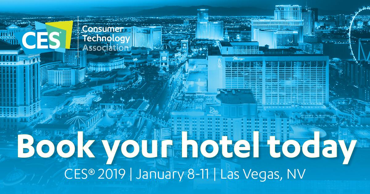 Don't get left out in the cold! Book your hotel room for #CES2019 today https://t.co/wO082ZXqzK