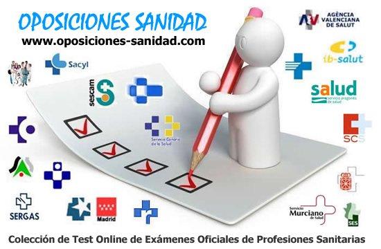 Todos los Test Online clasificados por Servicios de Salud y Categorías Profesionales... Dkl0losW4AE8eAq