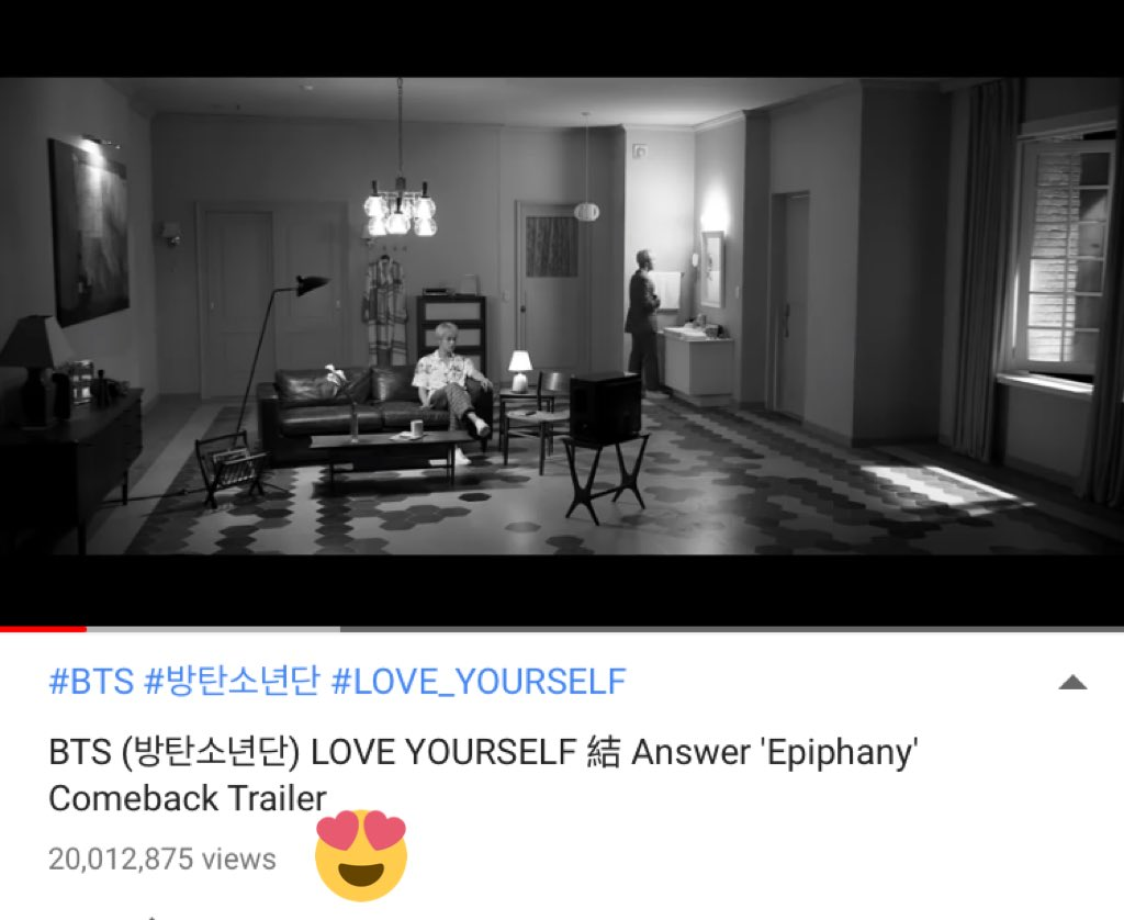 SO,  We just want to say that #EPIPHANY REACHED 20M VIEWS   Thanks everyone!! Keep streaming Epiphany and Awake for a good day   ( https:// youtu.be/fIkZOLsnoqY  &nbsp;  )  #김석진 #진 #석진 #JIN #BTS #방탄소년단 @BTS_twt<br>http://pic.twitter.com/LDqYzxUzZV