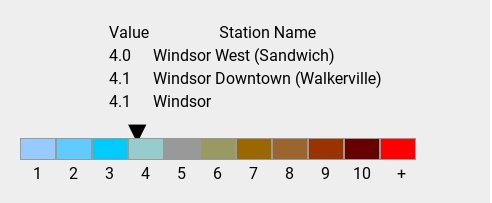 Tue 17:00: Air Quality Health Index: 4.1. History:  https:// windsoron.weatherstats.ca/metrics/health _index.html &nbsp; … <br>http://pic.twitter.com/vjBYHx2Tc0