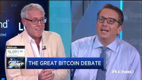 CNBC's Fast Money's photo on #bitcoin