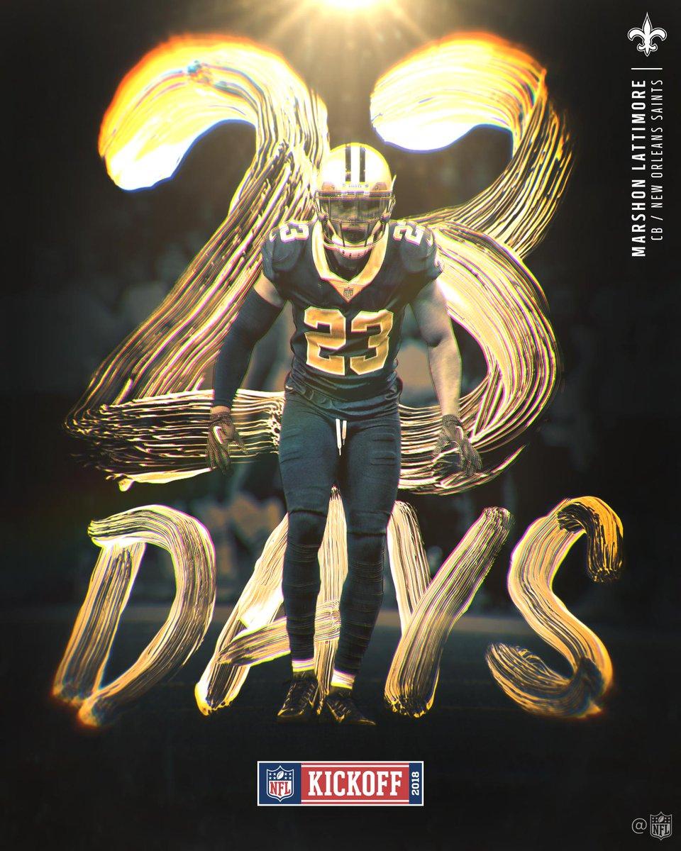 2️⃣3️⃣ DAYS! #Kickoff2018
