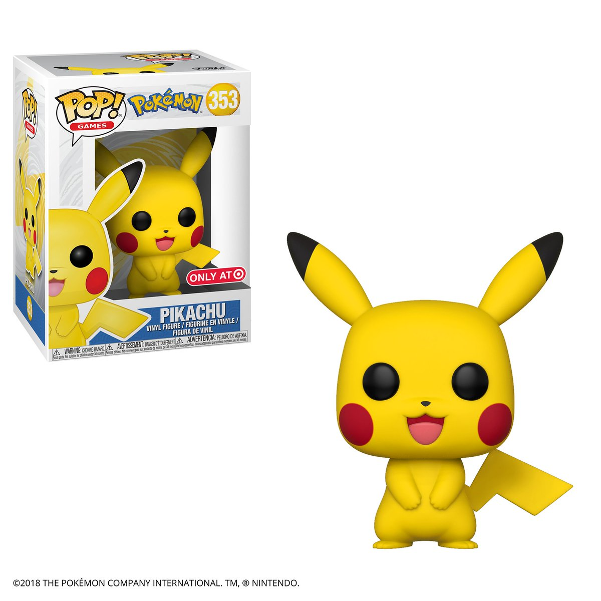 RT & follow @OriginalFunko for the chance to win a @Target exclusive Pikachu Pop!