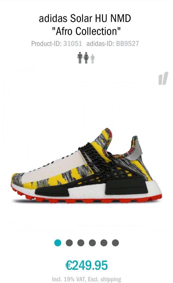 Pharrell x Adidas Afro NMD Hu BB9527 BB9528 BB9531 | Sole