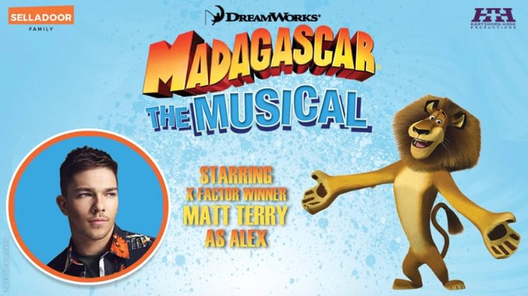 Madagascar The Musical posted media