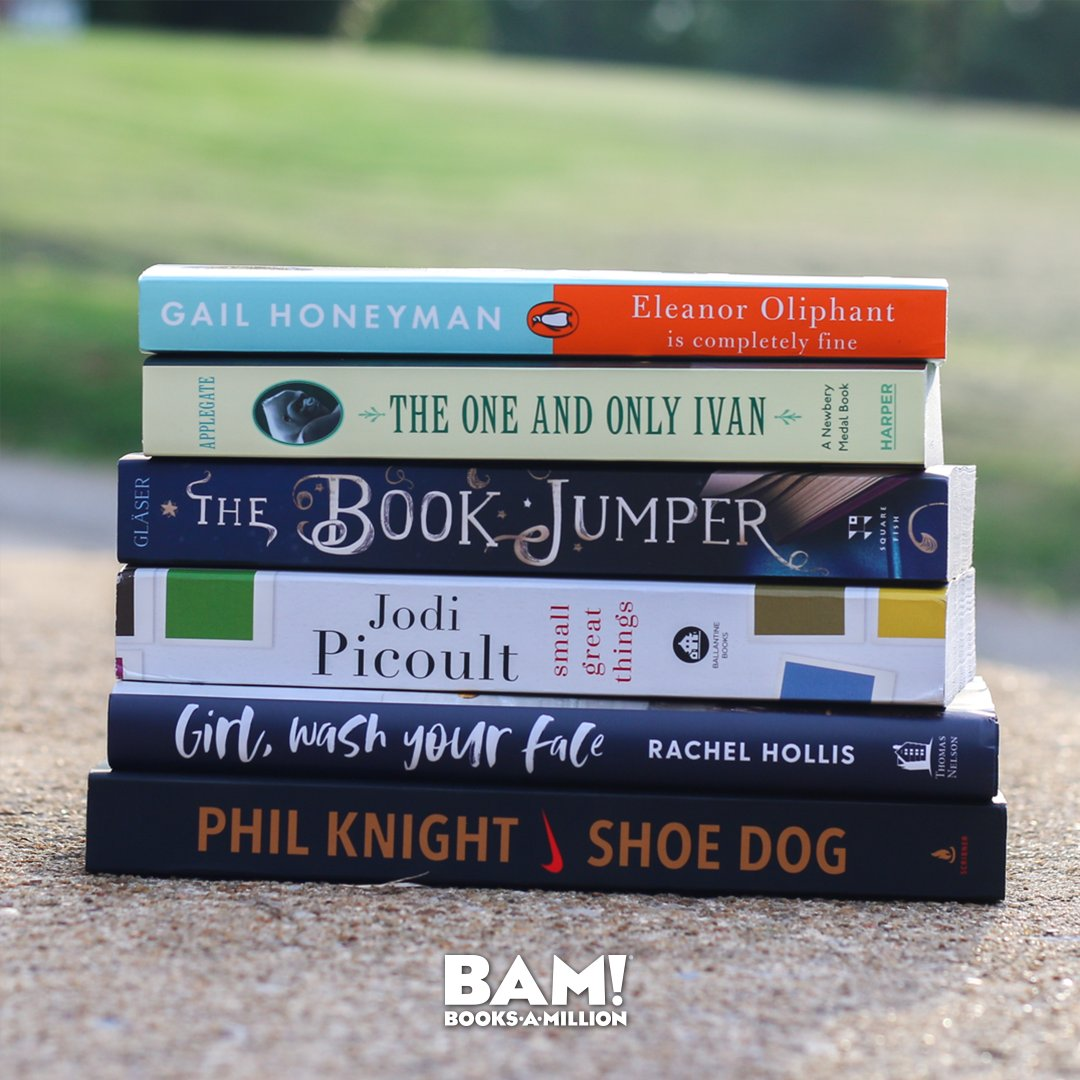 The #BAMBookClub is the best place to connect with other readers while discussing each month's expert picks! Join us now at BooksAMillion.com/BookClub or via our Facebook group bit.ly/2IsHPxl.