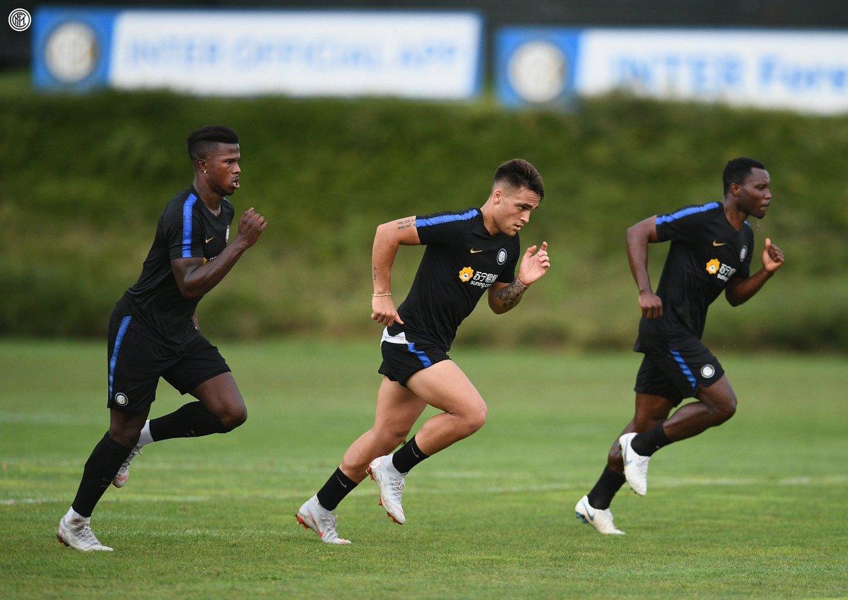 #Keita si allena a pieno regime, ha svolto la preparazione con il Monaco: contro il Sassuolo potrebbe essere preferito a #Perisic  - Ukustom