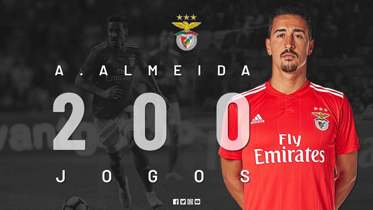 #FSKSLB | 0-0 |  💬 André Almeida cumpre o seu jogo 200 pelo Benfica! #UCL #Reconquista