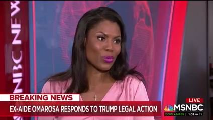Omarosa, without sharing details or proof, says on MSNBC that Trump knew about the emails hacked from Hillary Clinton's campaign before they were released by Wikileaks.