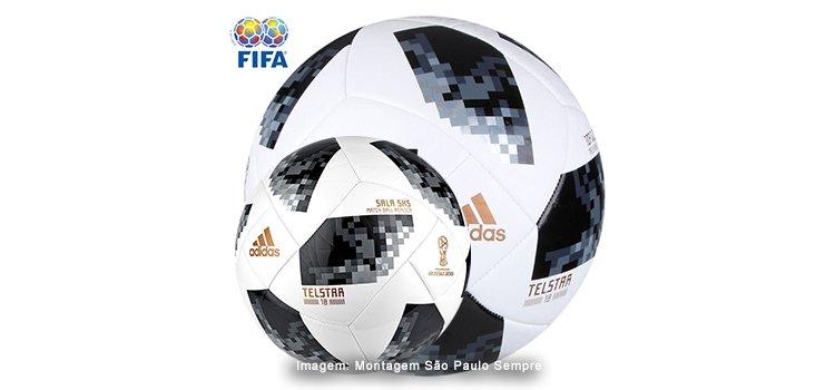 Para boleiros e boleiras  as bolas bacanas da Copa do Mundo ADIDAS (campo e d4a0742af3b5b
