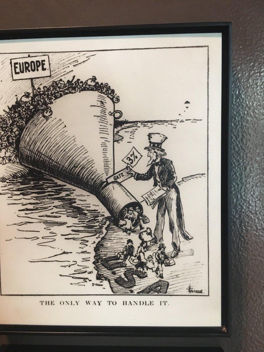 quando i migranti economici erano preziosi. Ma non per tutti... e l'#Europa era l'#Africa... (@ Ellis Island Immigration Museum - @natlparkservice in Jersey City, NJ, NJ)  https:// www.swarmapp.com/c/ii903qzZCuM  - Ukustom