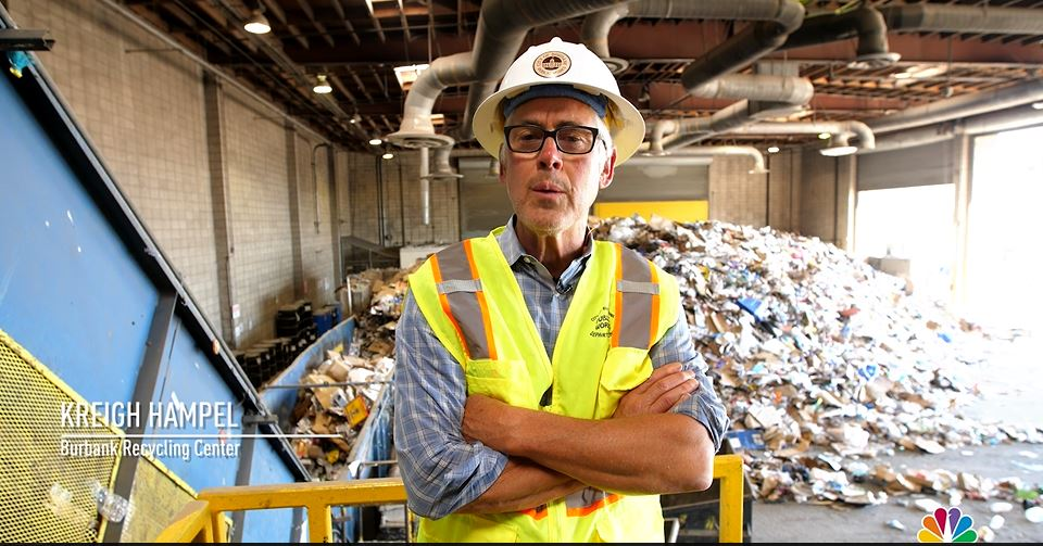 Burbank Recycling Center >> City Of Burbank On Twitter Kreigh Hampel Of The Burbank Recycle
