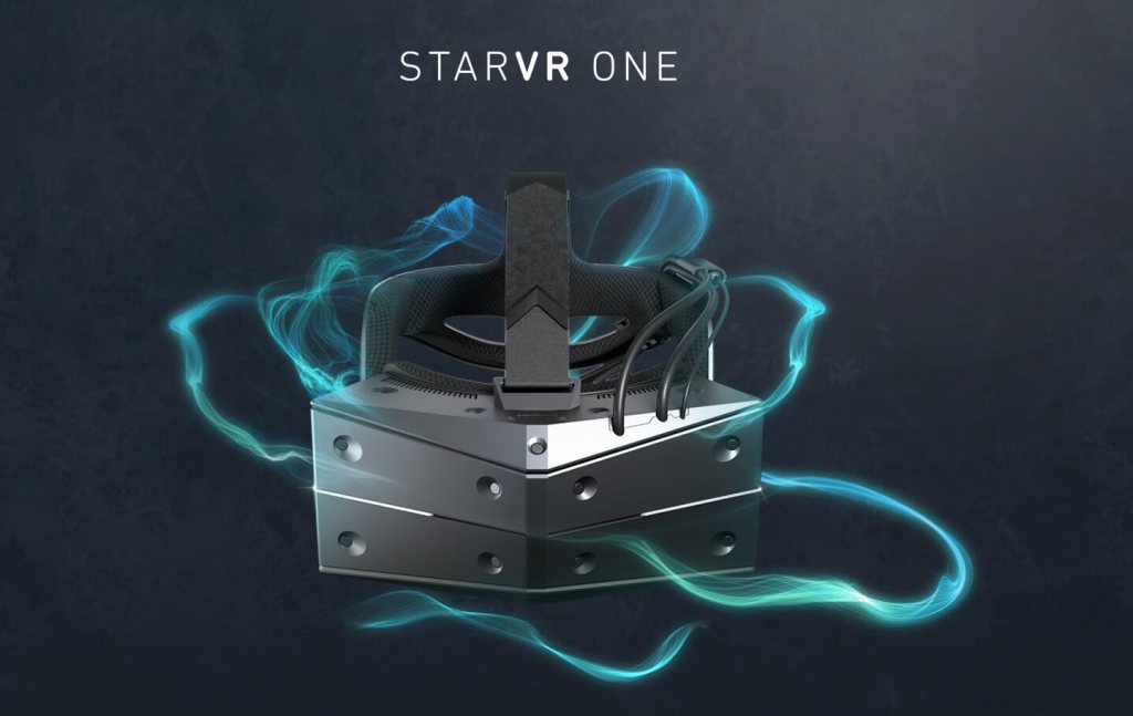 StarVR's One headset flaunts eye-tracking and a double-wide field of view  https:// tcrn.ch/2MggZPB  &nbsp;  <br>http://pic.twitter.com/F9dDnhVkbT
