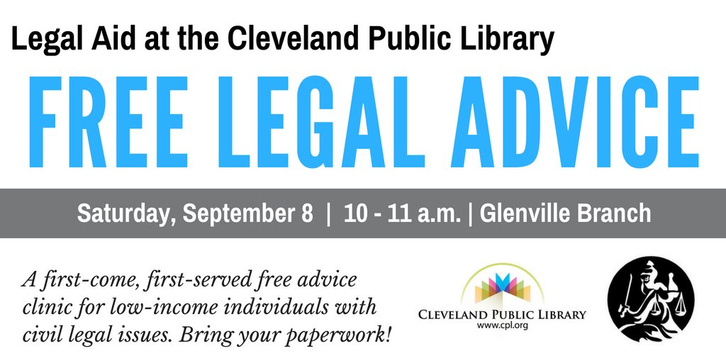 Legal Aid Cleveland On Twitter Get Free LegalAidCLE Help At The - Help with legal paperwork