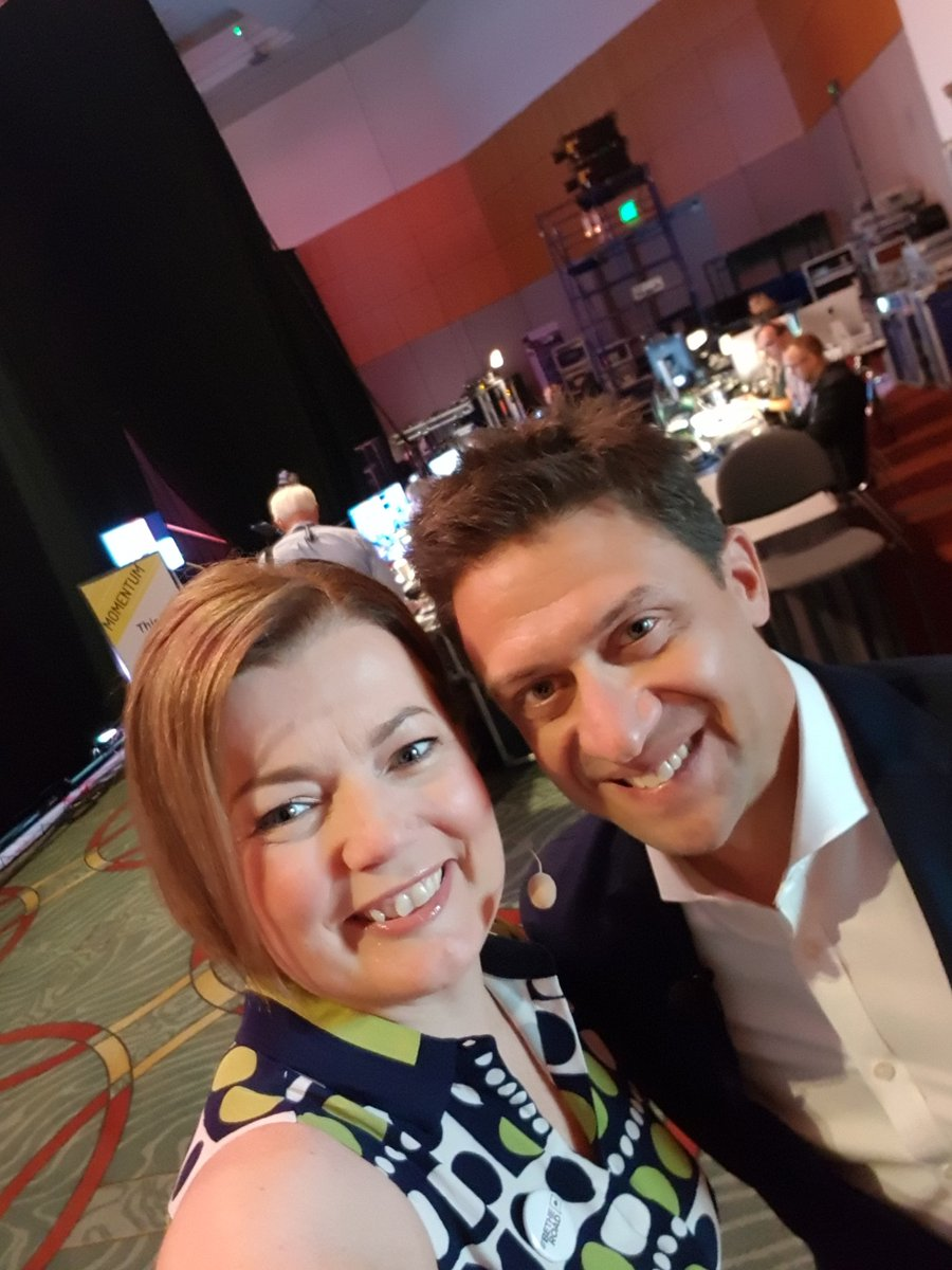 .@RobGreyber Backstage and onstage. Always a pleasure talking #biztravel with you Rob @Egencia #BeTheRoad #GBTA2018<br>http://pic.twitter.com/HD8GWciWjX
