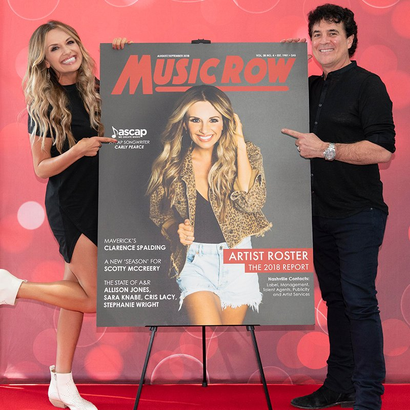 So proud of @CarlyPearce!!! Not only is #HideTheWine in the Top 20 at Country radio... but she just landed the cover of her first industry trade for @MusicRow magazine!!!    https:// CarlyPearce.lnk.to/HTWTW  &nbsp;  <br>http://pic.twitter.com/jsKcaLb2Qc