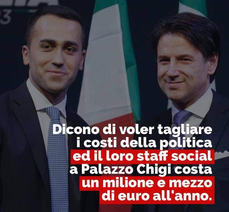 Lo staff del @Mov5Stelle...Tutto pagato coi nostri soldi! #M5S #Movimento5Stelle #DiMaio #Grillo #Conte #GovernoDelCambiamento #GovernoDelCambiamentoInPeggio  - Ukustom