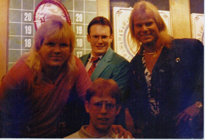 Happy Birthday to Bobby Eaton!! met him in May of 1989.