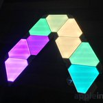 Image for the Tweet beginning: Review: @Nanoleaf's Rhythm Edition Light