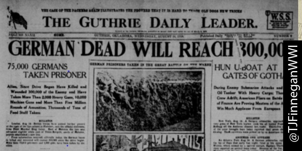 German dead will reach 300k.  http:// ow.ly/U4KL30cjc86  &nbsp;   #wwi #wwi100 #wwidaybyday #ww1<br>http://pic.twitter.com/dKzSfBBkuY
