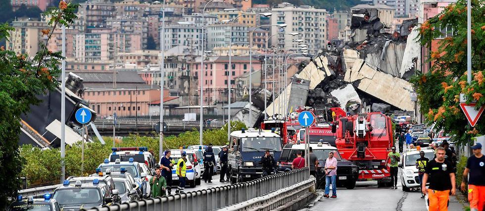 Effondrement d'un viaduc à Gênes: ce que l'on sait https://t.co/EjFtEJFCt1