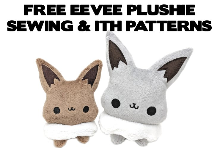 Teacuplaura On Twitter Make Your Own Eevee Plushie For Free With