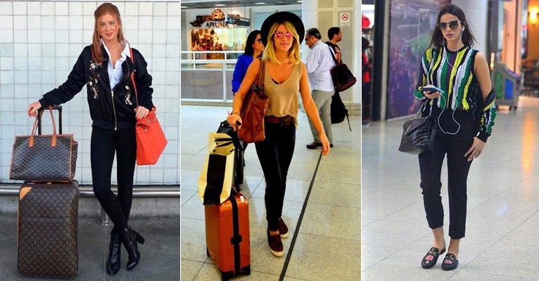 Viajar com estilo: Inspire-se nas famosas e saiba qual a roupa ideal para usar no avião-->https://t.co/3imYIAcuK3