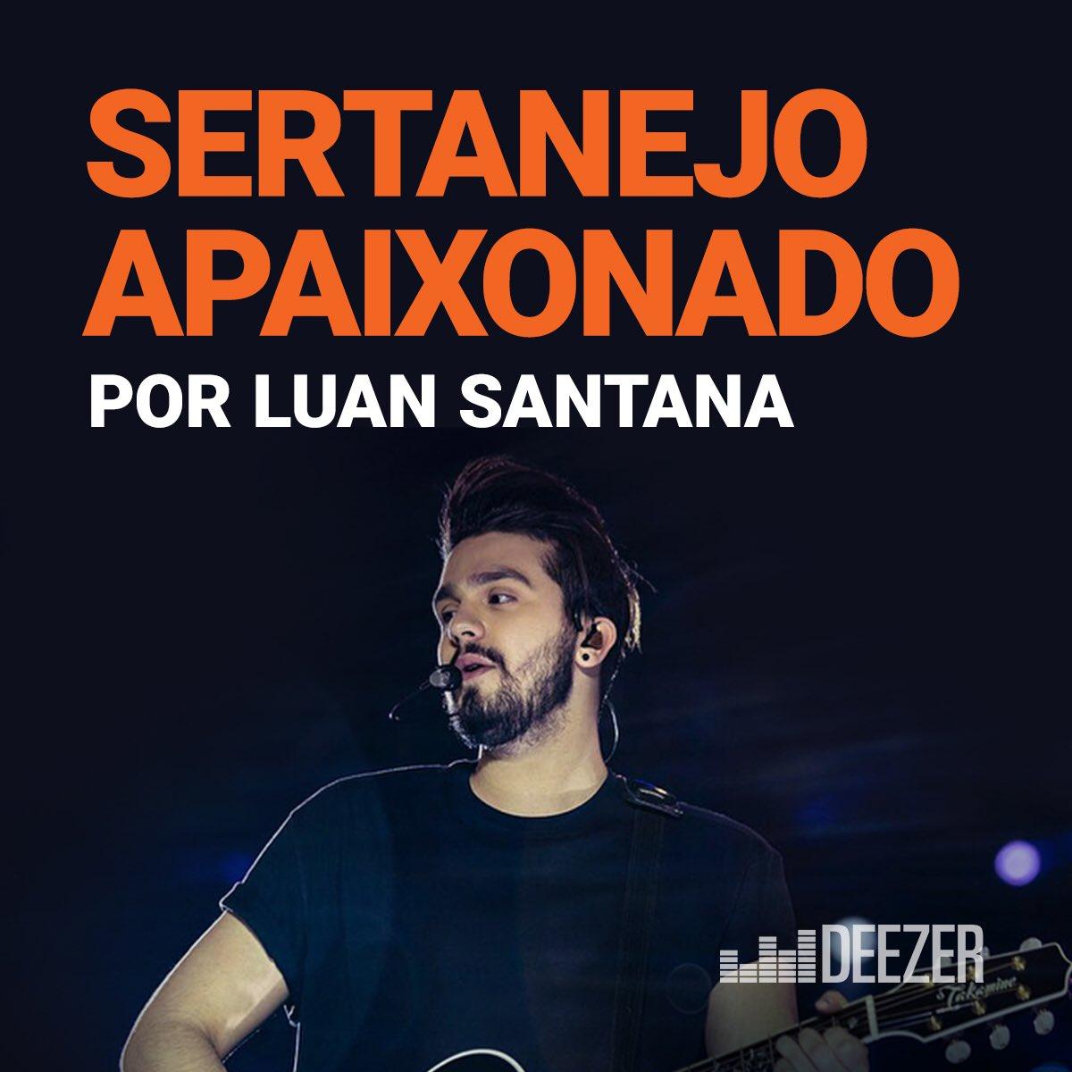Parei com os rolês… e escolhi várias músicas que eu gosto pra vocês. Tá tudo na playlist Sertanejo Apaixonado da @DeezerBrasil. Olha https://t.co/nIqDnZpfhcsó:  ❤