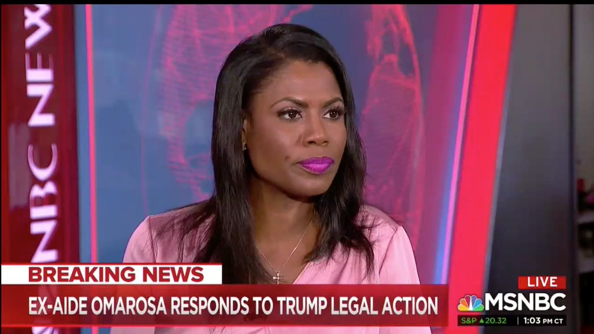 Omarosa claims Trump frequently sexually harassed women in the White House: 'He is very physical and would grab women and kiss them, unsolicited, any time, any day' https://t.co/IFX8swrlkv