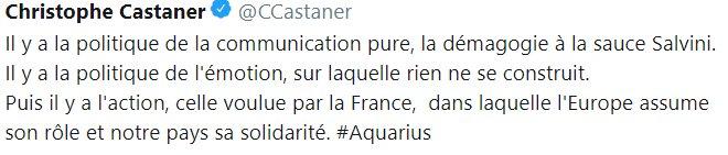 Il y a la politique de la communication pure, la démagogie à la sauce #Macron et, pour tout le reste, il y a Castaner Express !