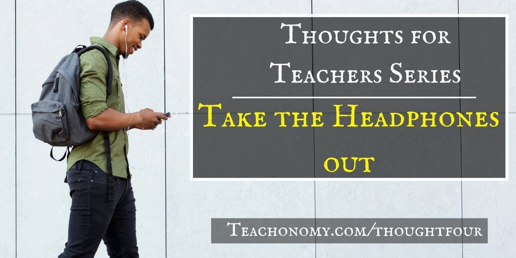 I get a little vulnerable in this week's #podcast. Hope to encourage you! Teachonomy.com/thoughtfour